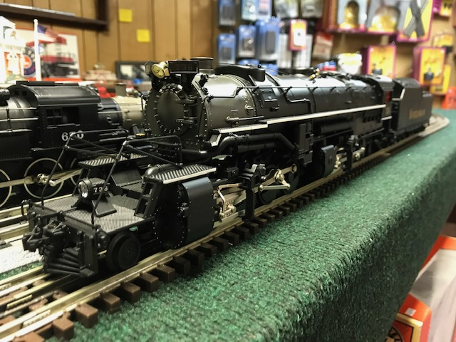 MTH Virginian Premier 2-8-8-2 Y3 Steam Engine - With Proto ...
